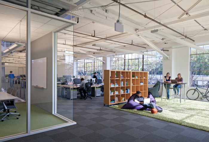 Office interior design inspiration - Atlassian Offices, San Francisco