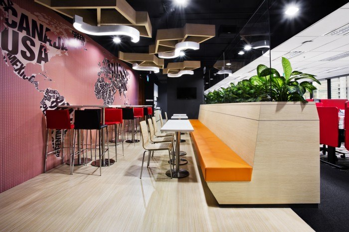 Pantry 700x466 The New TripAdvisor Office In Singapore
