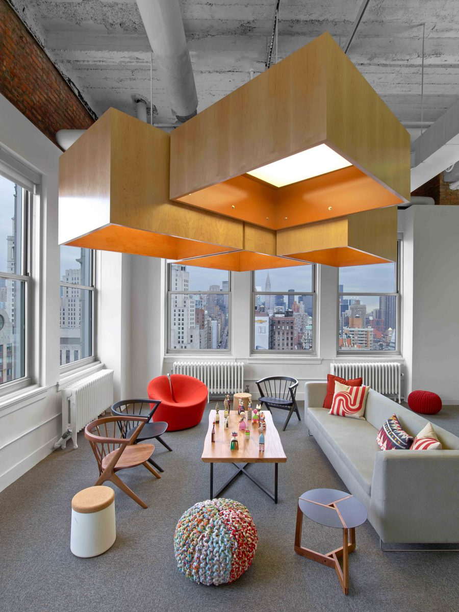 inside hudson rouge 39 s inspiring new york city ad agency view project. Black Bedroom Furniture Sets. Home Design Ideas