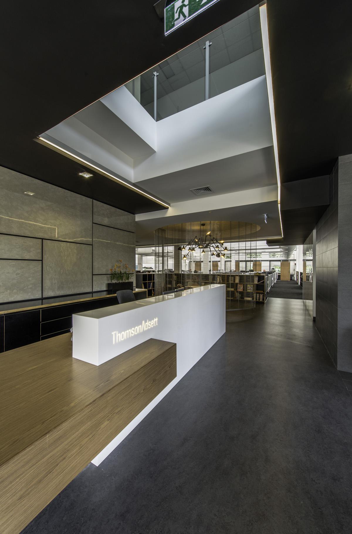 Thomsonadsett 39 s collaborative brisbane architecture studio for Office design brisbane