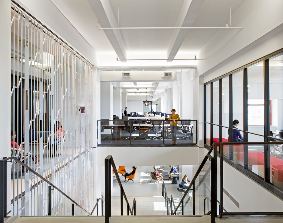 Inside shutterstock 39 s new empire state building offices - What offices are in the empire state building ...