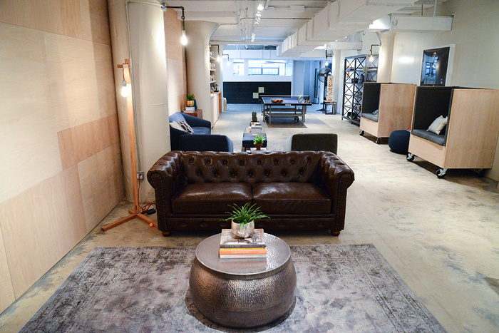gilt29 700x467 GILTs New York City Office Common Room