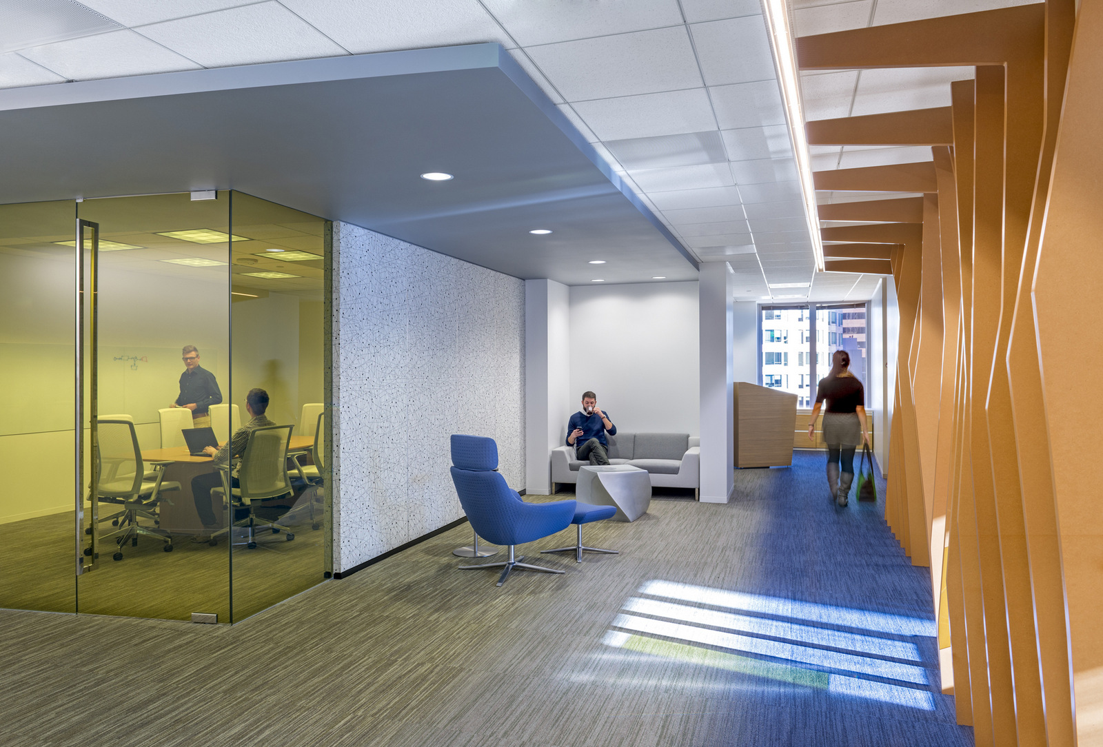 Econ one los angeles offices office snapshots for It company interior