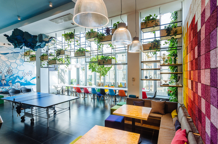 Skyscanner budapest offices office snapshots for Office design game