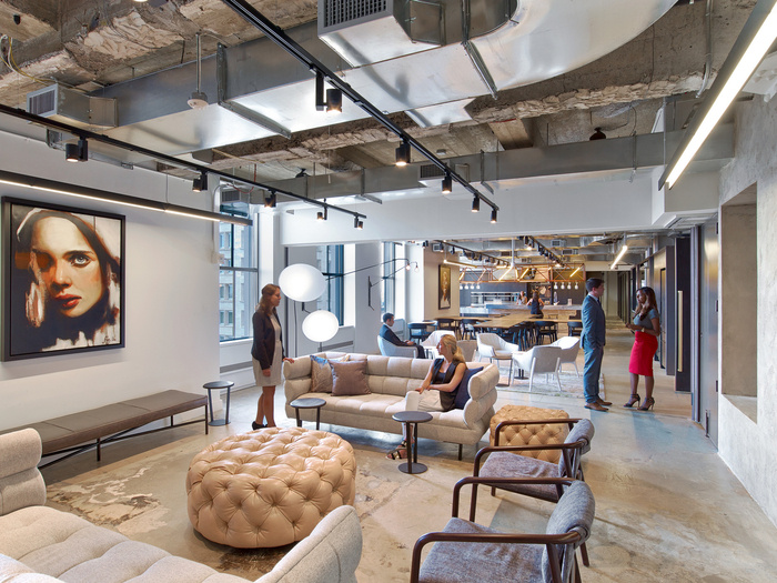 Wme img offices new york city office snapshots for Interior design recruitment agency new york