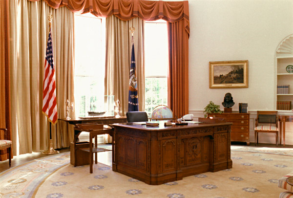 United States Presidential Oval Offices - Taft through Obama - 13