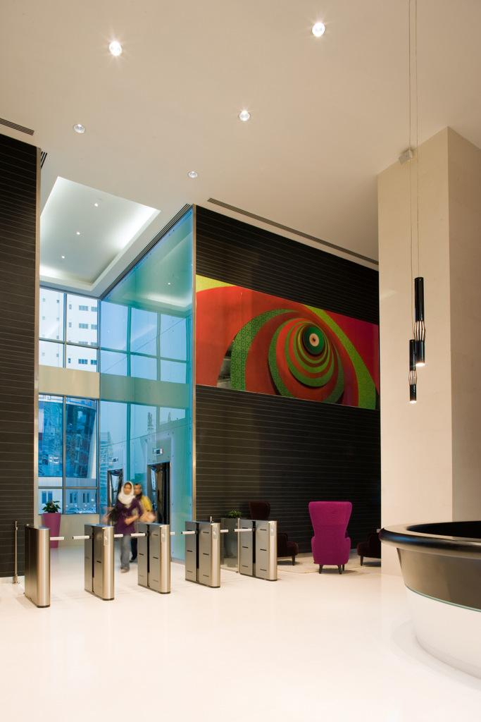 Zain's Colorful Bahrain Headquarters Offices - 7