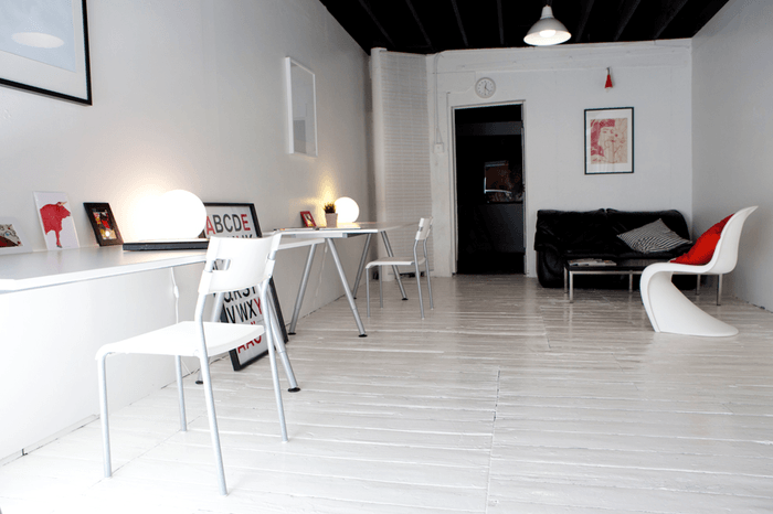The Supply's Minimal Artists Loft Office - 4
