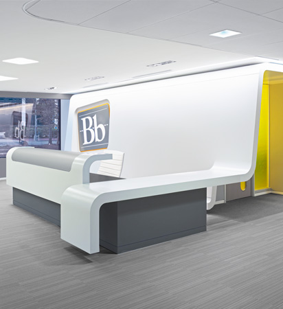 55 Inspirational Office Receptions, Lobbies, and Entryways - 43