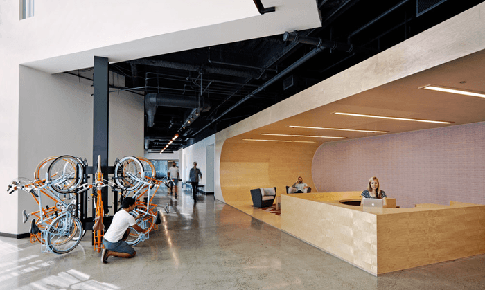 55 Inspirational Office Receptions, Lobbies, and Entryways - 49
