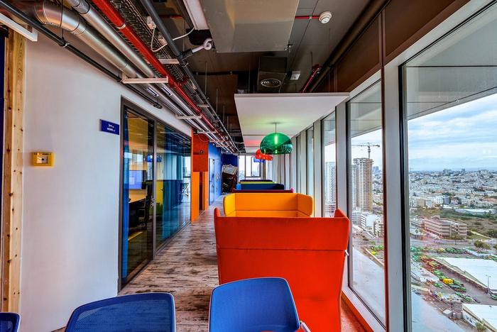 Внутри нового офиса Google Тель-Авив - 18