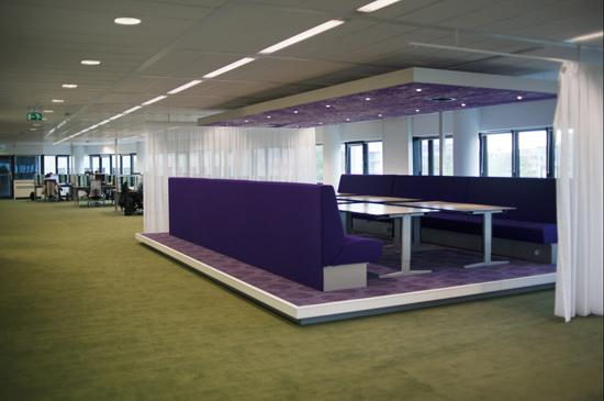 Inspiration: Offices Clad In Purple, The Color Of Royalty   16