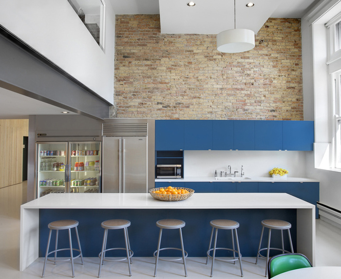 Inspiration: Offices Accented In Blue - 12