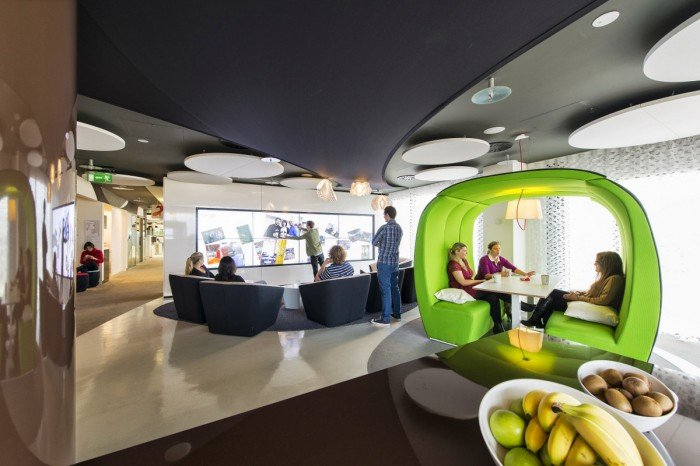 Inside The Epic Google Dublin Campus Office Snapshots