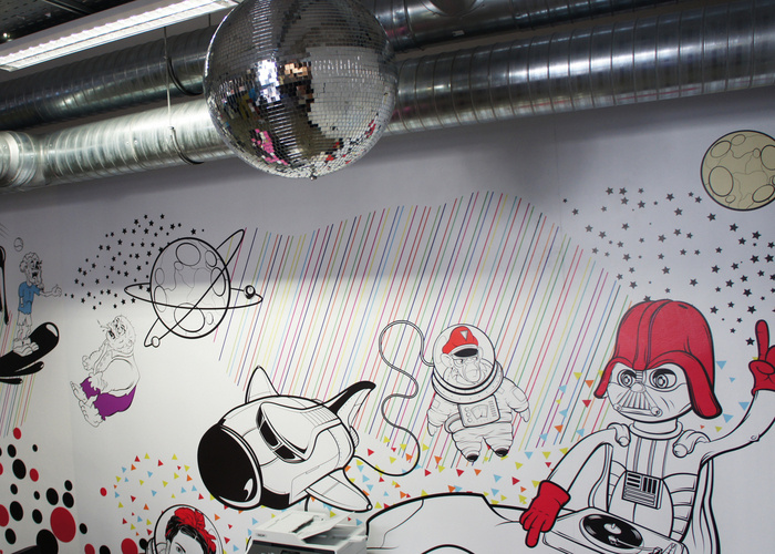 PIXERS' Colorful Poland Office & Mural - 23