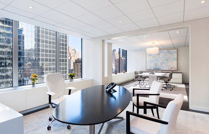 Inside avon 39 s new york city executive offices office for Office interior design nyc