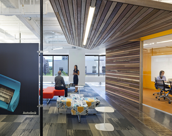Inside autodesk 39 s new san francisco offices office snapshots for Design agency san francisco