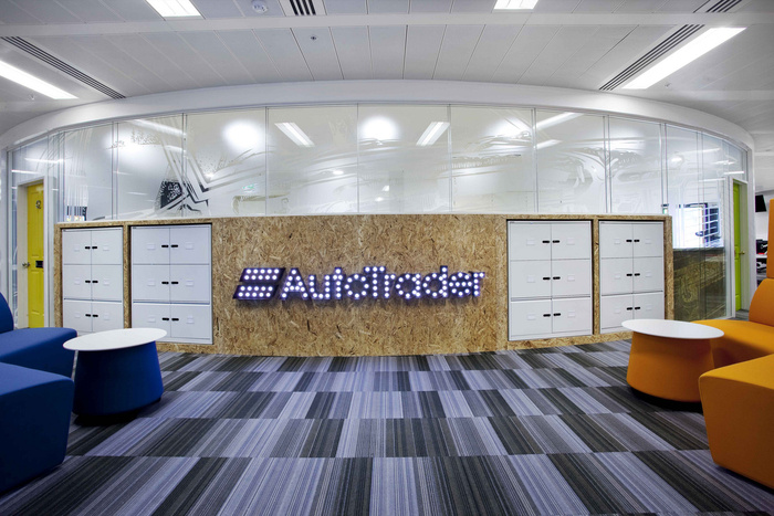 autotrader london officesview project auto trader offices london