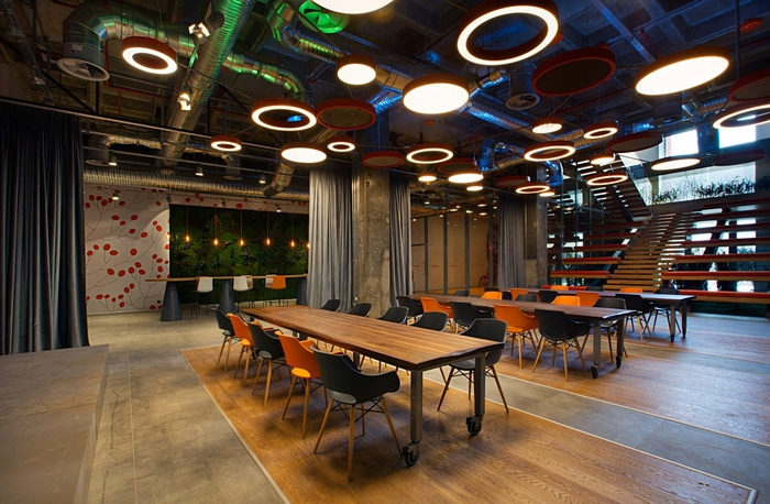 ING Bank Canteen - Istanbul - Office Snapshots