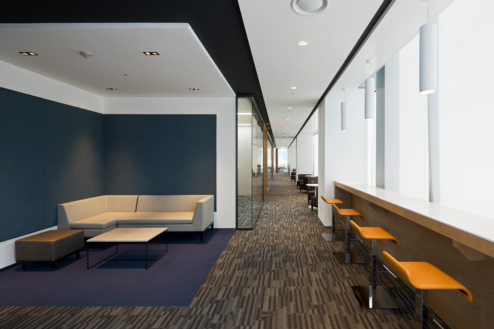 Unnamed company office by steven leach group office for Office design wellbeing