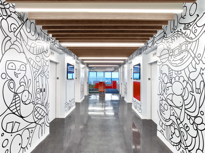 Nickelodeon Headquarters - Phase 1 - New York City - 1