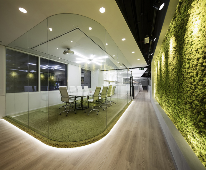 Swiss bureau interior design ezelink telecom offices for Office design productivity research