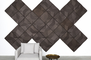 Ecoustic Matrix Wall Tile by Unika Vaev
