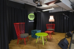 Stage in Spotify Offices - London