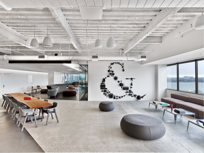 Saatchi saatchi offices new york city office snapshots for Interior design office new york