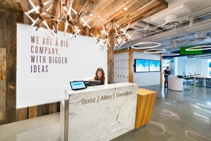 Booz Allen Hamilton's Innovation Center Offices - Washington D.C.