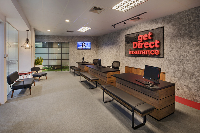 Budget direct insurance offices singapore office snapshots for Interior designs direct