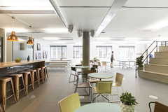 Cafe Seating in Audio Network Offices - London