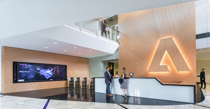 Adobe's Newly Renovated Headquarters - San Jose - 1