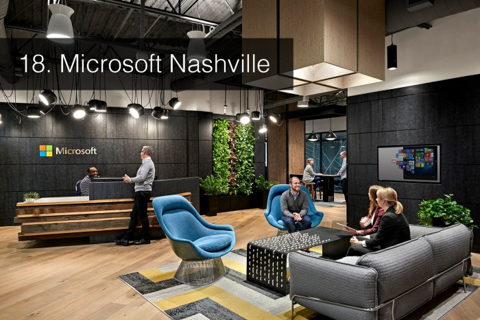 The Top 25 Most Popular Offices Of 2017 Real Strategy