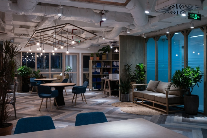 Unipro offices ho chi minh city office snapshots for Office design vietnam