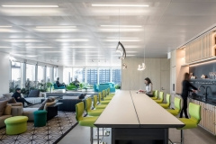 Sofas / Modular Lounge in Lyrical Asset Management Offices - New York City