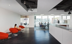 Suspended Cylinder / Round in National Retail Federation Offices - Washington DC
