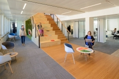 Recessed Linear in Netherlands Nutrition Centre Offices - The Hague