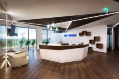 Recessed Linear in Ingram Micro Offices - Warsaw