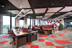 Drop Ceiling in Ingram Micro Offices - Warsaw