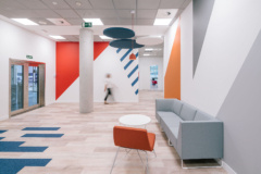 Lay-In / Troffer in UST Global Offices - Madrid