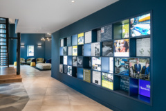 Stone Tile in Harrison Spinks Headquarters and Showroom - Leeds