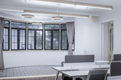 Suspended Cylinder / Round in Creater Space Coworking Offices Yu Yuan Branch - Shanghai
