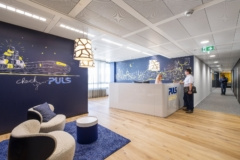 Recessed Cylinder / Round in PULS Vario Offices - Vienna