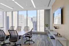 Wall-Mounted Display in Fir Tree Partners Offices - New York City