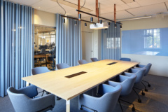 Curtain in BSK Architects Headquarters - Stockholm