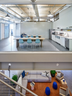 Stone Tile in Simple Office Expansion - Portland