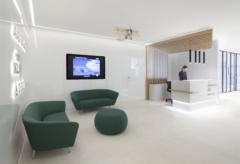 Recessed Linear in Air France & KLM Offices - Milan