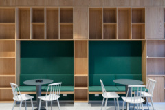 Banquette Seating in SPACES Rialto Coworking Offices - Melbourne