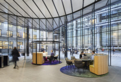 Stone Tile in Willis Towers Watson Offices - London